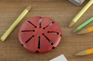 [文具設計]Lollypop多孔削鉛筆機