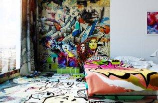 [插畫藝術]烏克蘭出品「室內塗鴉藝術」