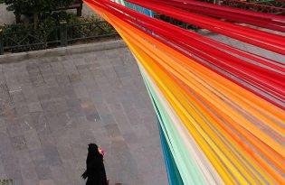 [創意設計]彩虹街道裝置藝術