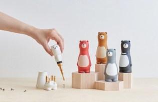 [文創設計]台灣品牌「Bear Papa小熊螺絲把手套」