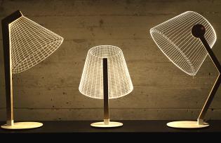 [家具設計]ZIGGi點線面立體檯燈