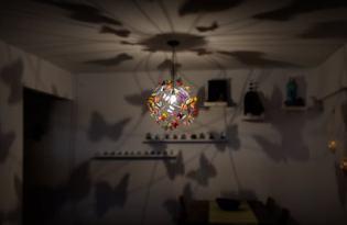 [家具設計]蝴蝶光影檯燈Butterfly Lamp