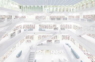 [建築設計]Stuttgart Library德國圖書館