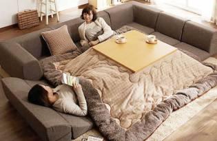 [家具設計]日本現代化暖桌