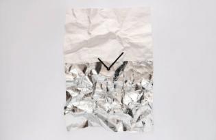 [產品設計]Wall clock摺紙時鐘