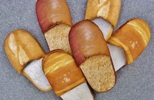 [創意設計]日本出品「麵包拖鞋」