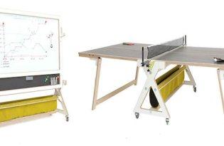 [產品設計]Desk Pin-Po白板+桌球雙用桌