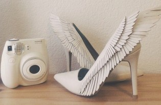 [紙雕工藝]天使之翼高跟鞋