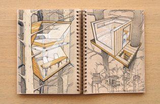 [平面設計]Sketch book工業設計手稿