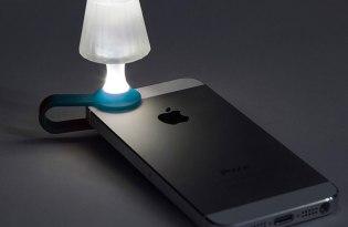 [文創設計]Peleg design出品「luma手機檯燈」