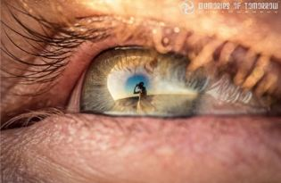 [視覺傳達]瞳孔風景攝影藝術