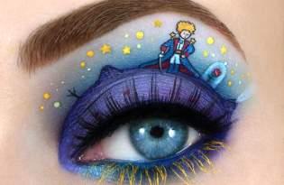[視覺傳達]眼妝彩繪化妝藝術