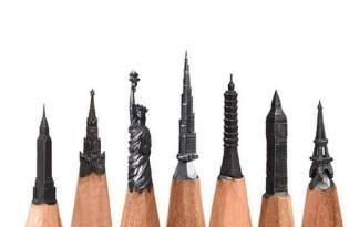 [設計工藝]精密鉛筆雕刻藝術