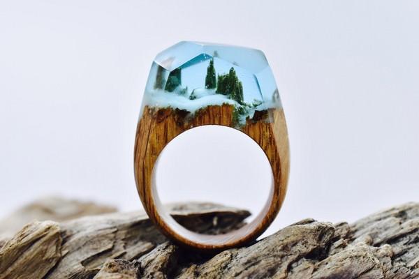 [珠寶設計]Secret Wood樹脂木戒指