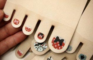 [文創設計]Belle Maison指甲彩繪絲襪