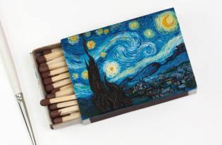 [平面設計]俄羅斯師出品「名畫火柴盒藝術」