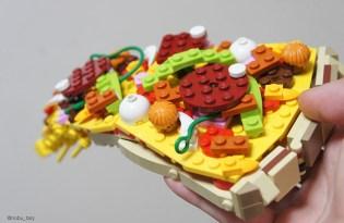 [文創設計]LEGO樂高積木的美食世界