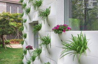 [文創設計]Pocket Panel牆壁崁入式盆栽
