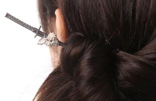 [文創設計]日本出品「武士刀髮簪」