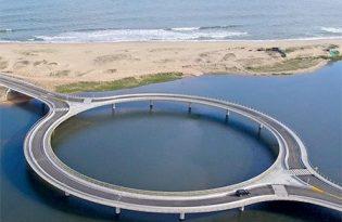[建築設計]烏拉圭環形跨海大橋
