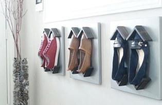 [家具設計]SHOEBLOX鞋子壁畫