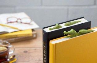 [產品設計]Peleg Design趣味鱷魚書籤