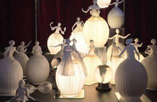 [工藝設計]優雅紙燈照明
