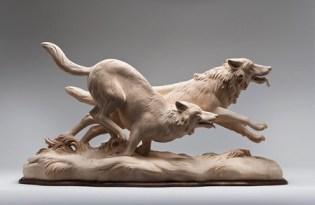 [工藝設計]義大利出品「木雕動物裝置藝術」