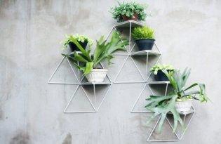 [裝置藝術]Parrado幾何壁掛花盆