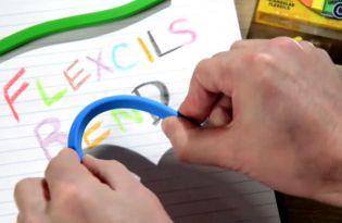 [文具設計]可彎曲兒童安全畫筆