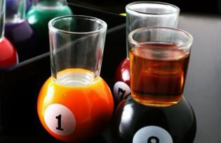 [器皿設計] Billiard Ball Glasses撞球創意杯具