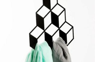 [家具設計] 3D Closet Rack平面幾何衣架