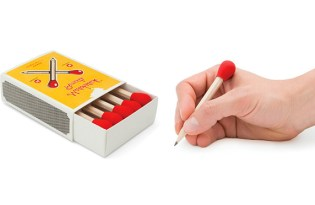 [文具設計]Matchstick Pencils火柴造型鉛筆套