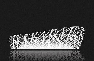 [平面設計]世界建築點線面裝置藝術