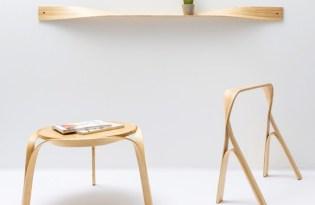 [設計工藝]優雅彎曲木作家具藝術