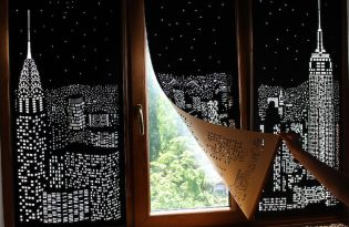[文創設計]烏克蘭城市剪影窗簾