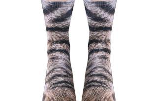 [服飾設計] Crew Socks喵星人貓爪襪