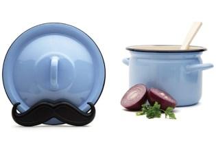 [廚具設計]Mario鬍鬚鍋蓋架