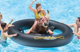 [產品設計]公牛游泳池充氣玩具