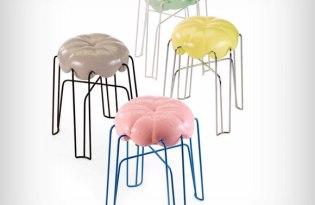 [家具設計]德國出品「棉花糖高腳椅」