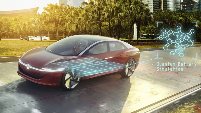 Volkswagen Uses Quantum Computing to Develop EV Batteries