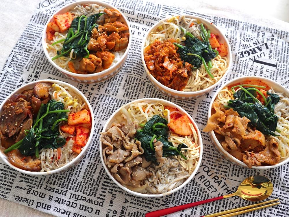 瑪西達Ma Si Da韓式料理:新推出外帶韓式便當餐盒,只要百元上下就能品嘗韓式風味料理~/熊貓外送.Uber Eats台南外送平台配合
