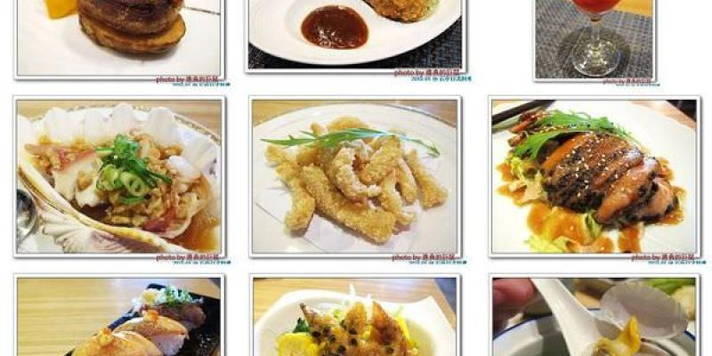 (台南。北區美食)石亭日本料理 / 超~日本風~『粉嫩豔麗 櫻花樹旁的日式料理餐廳』。新鮮漁獲直送。精緻美味套餐。