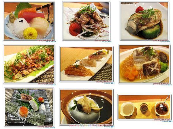 (台南。安平區美食)城壽司 / 吃得到新鮮漁獲&少見魚類。套餐單點通通有!還有會跳舞的『炒烏龍』唷~