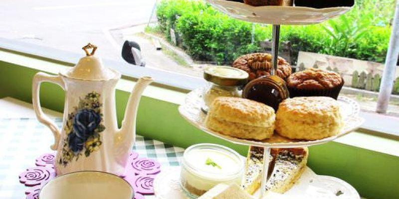 (台南。中西區美食) 『Daisy's Tearoom』最道地的英國甜點 和午茶。三層式午茶盤,非常吸睛且美味!