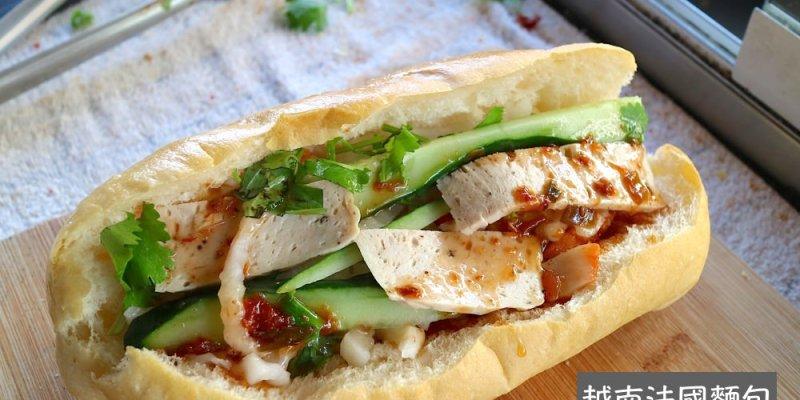 越南法國麵包 台南水仙宮市場的道地越南美食
