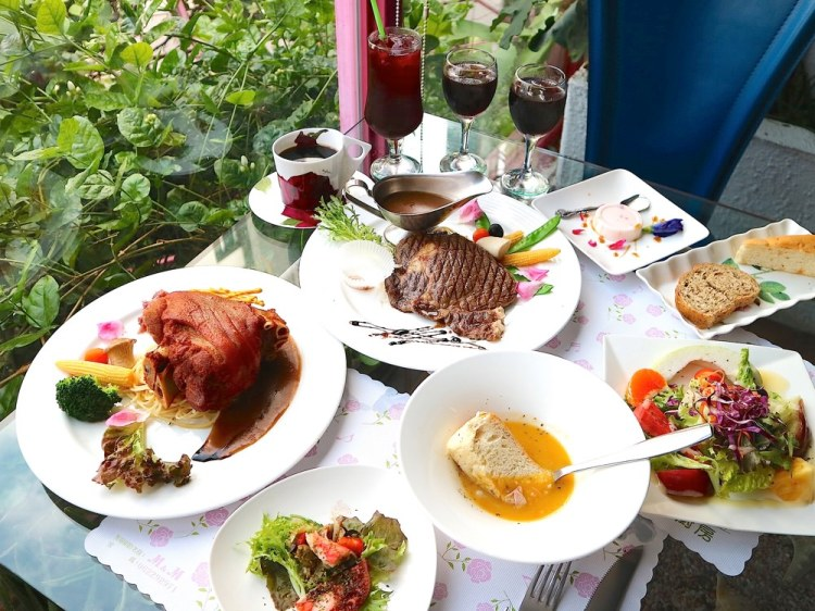 M&M音樂廚房:台南百年老屋內品嚐美味法式料理 台灣少見的音樂餐廳/台南聚餐餐廳推薦/台南老屋餐廳