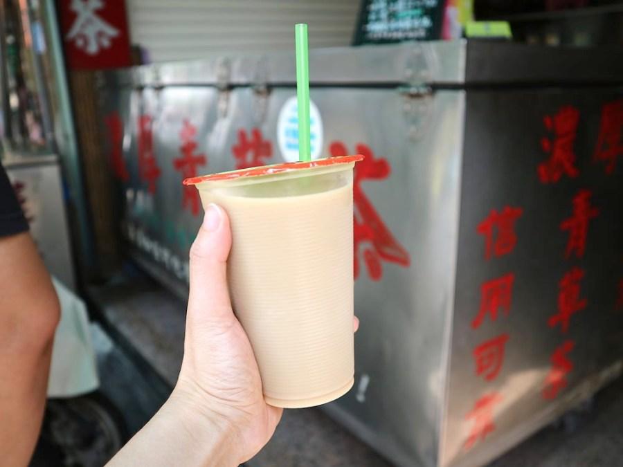 雪峰濃厚青草茶舖:薄荷牛奶你喝過嗎?又濃又涼的青草茶香,搭配濃郁乳香|屏東老字號三十年濃厚青草茶老店