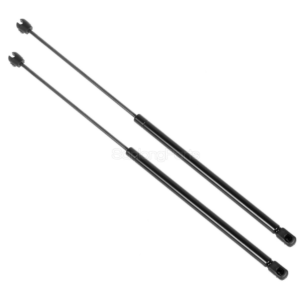 2x Pm Front Hood Gas Charged Lift Support For