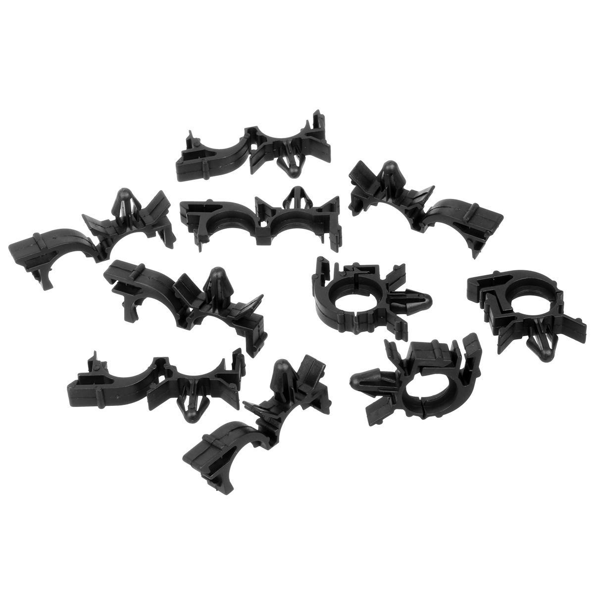 20pcs Nylon Wire Routing Split Harness Conduit Clip For Gm